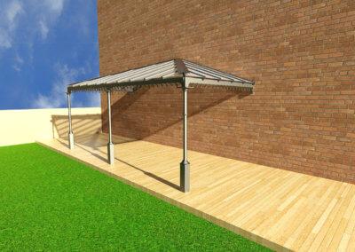 3D-Veranda