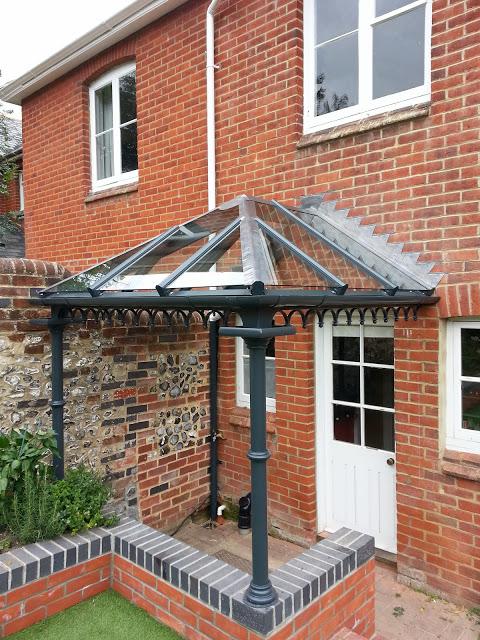 residential door canopy
