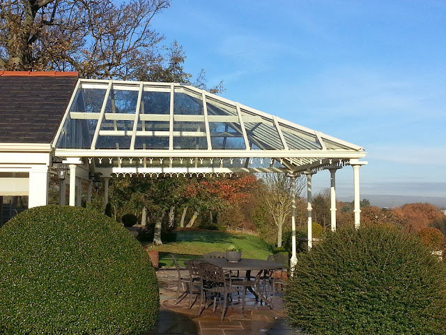 glass canopy residential