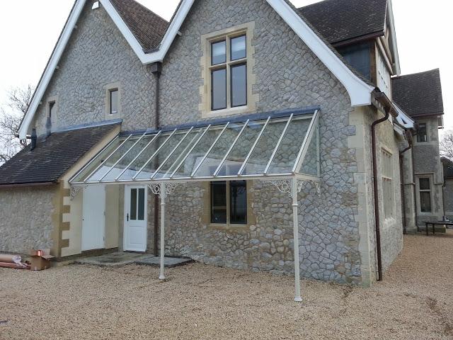 aluminium glass veranda