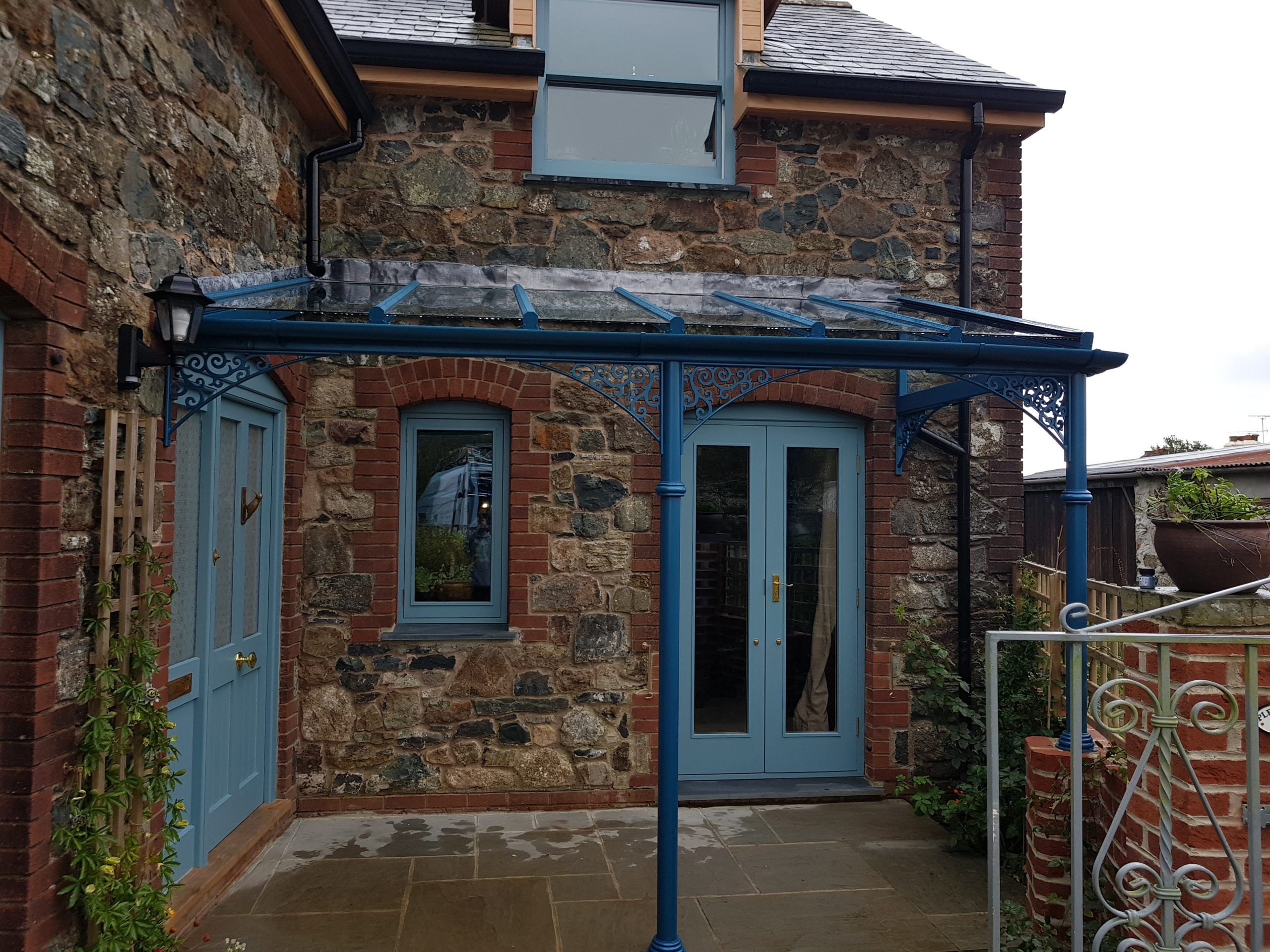 aluminium veranda railings