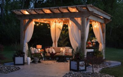 Three Creative Ways to Use Your Garden Canopy or Veranda