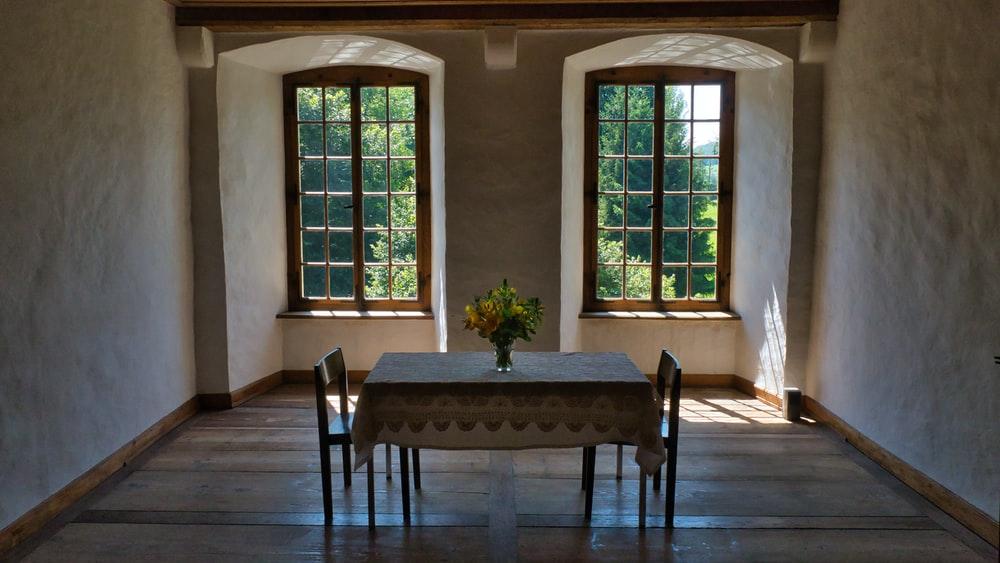 all wood windows
